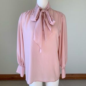 Who what wear pink blouse